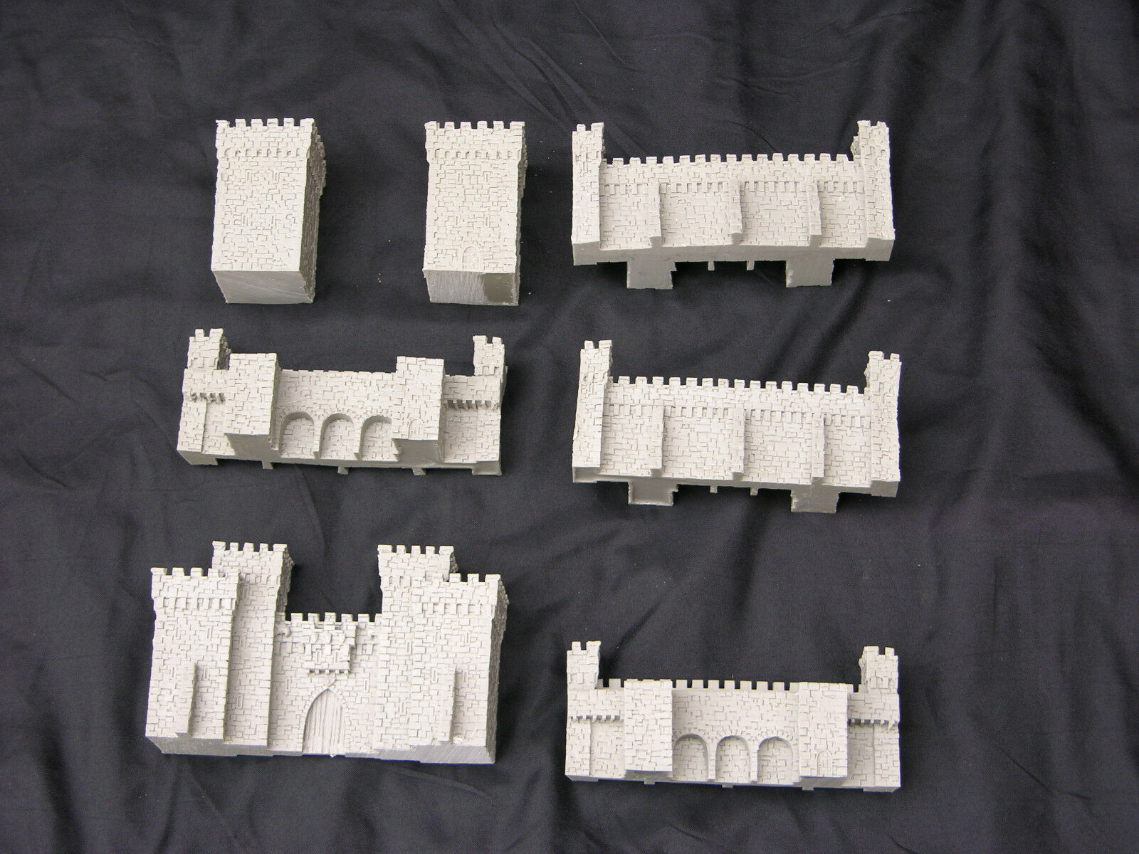 WARMASTER SCALE, CITY WALLS, CASTLE, FORGEWORLD