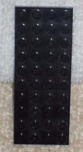 LEGO base piatta sottile *** di colore nero-Base piatta 4 x 10 BORCHIE *** Usato