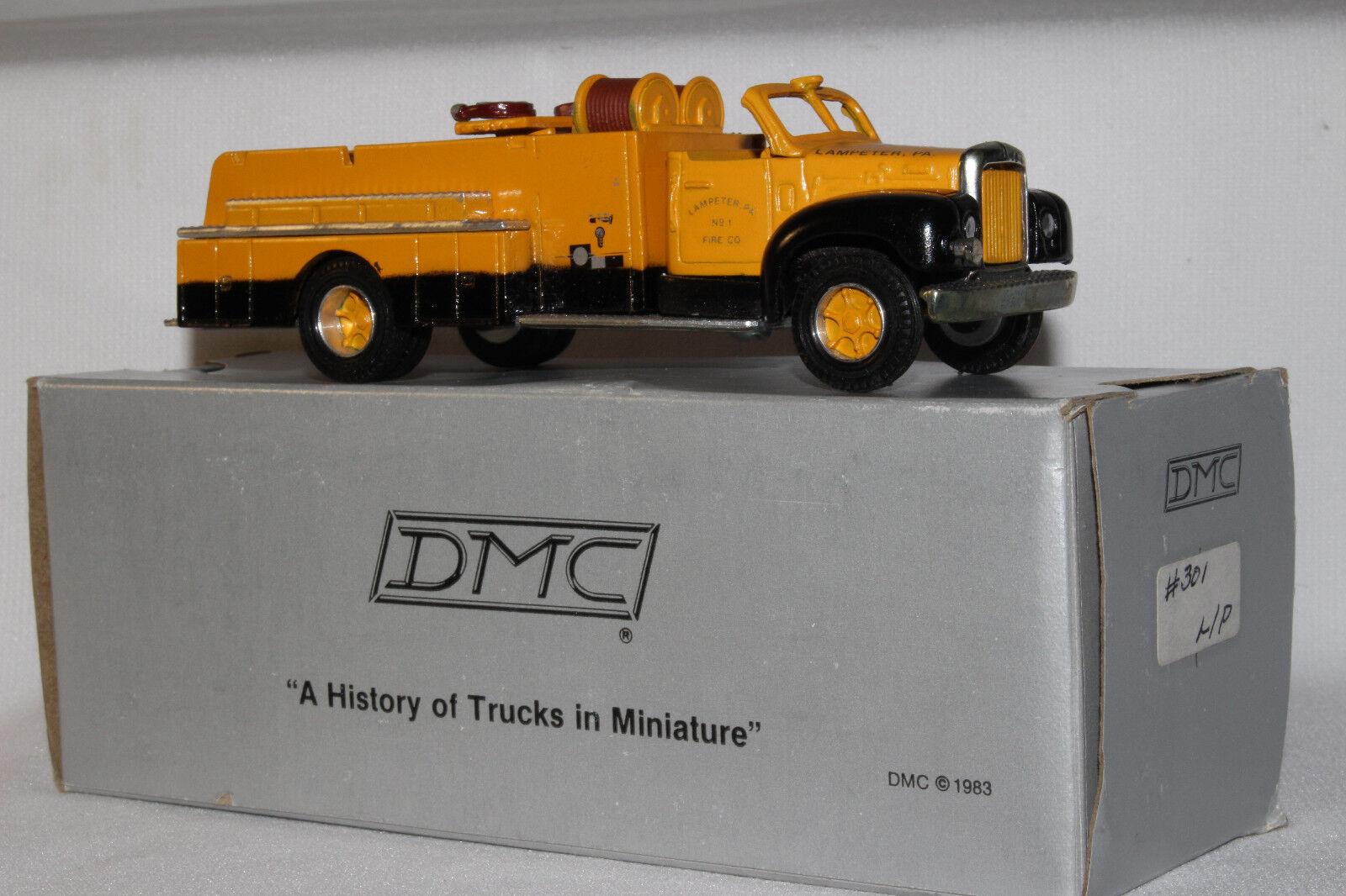 Dehanes Modelos,594ms Caja Modelo Mack Lampeter Cojín Camión de Bomberos con