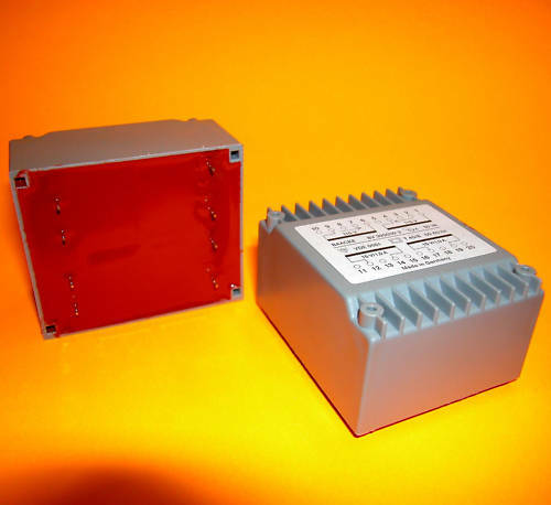 1 Stück Trafo Flachtransformator Transformer 2 x 15V 2x 1A 30VA