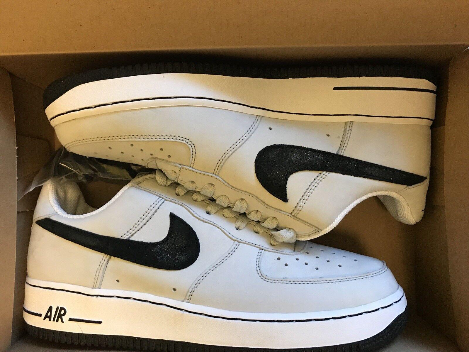 2005 Nike Air Force 1 306353 007 Glitter Swoosh