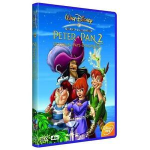 DVD-034-PETER-PAN-2-retour-pais-de-nunca-jamas-034-Disney-N-66-NUEVO-EN-BL-STER