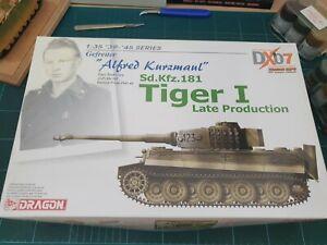 Dragon-6416-Gefreiter-034-Alfred-Kurzmaul-034-Sd-Kfz-181-Tiger-I-Late-Production-RARE