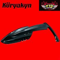 Kuryakyn Black Scythe™ Ii Mirrors Direct Replacement For H-d Applications 1760