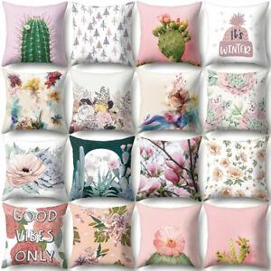 Am-KF-Cactus-Pineapple-Throw-Case-Cushion-Cover-Sofa-Bed-Car-Cafe-Office-Decor