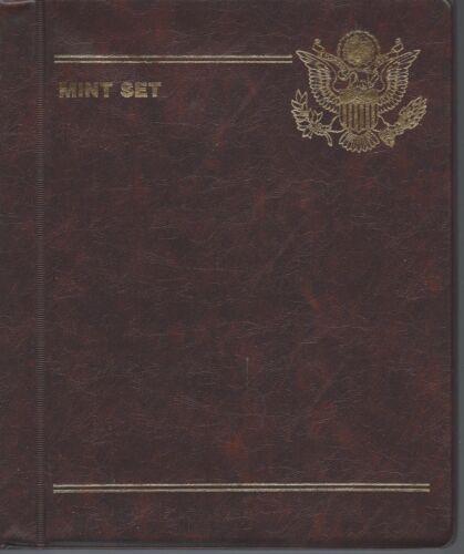 Gardmater Mint Set Album  4 Pages Holds 8 Sets No Coins