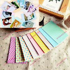 40PCS Polaroid FujiFilm Instax Film Skins Stickers Scrapbook Photo Decoration av