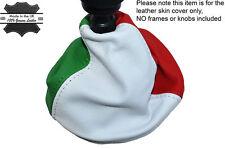 ITALIANA COLORI PER FIAT 500 07-15  MANUALE PELLE CUFFIA LEVA CAMBIO