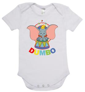 Baby one piece romper suit  Disney DUMBO new short sleeve cotton