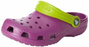 crocs-Kid-039-s-Classic-Clog-Viola-Volt-Green-C10C11-Little-Kid
