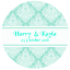 DAMASK-STYLE-PERSONALISED-WEDDING-BIRTHDAY-BUSINESS-STICKERS-CUSTOM-SEALS-LABELS thumbnail 5