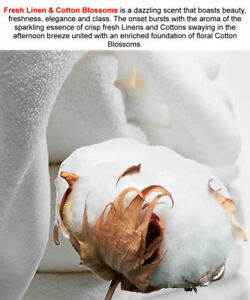 FRESH-LINEN-amp-COTTON-BLOSSOM-Room-Linen-Air-Freshener-Spray-VEGAN-CRUELTY-FREE