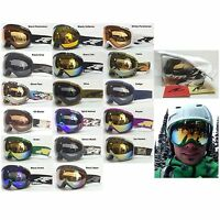 Arnette Skylight Spherical Mens Oversized Ski Snowboard Goggles 2015 Ret$140