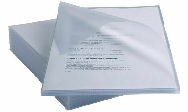 4xRexel Sichthülle Anti-Slip, DIN A4, PP, glasklar, 0,15 mm   Bevorzugtes Material    Bestellung willkommen    Für Ihre Wahl