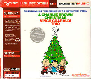 Charlie Brown Christmas Soundtrack.Details About Vince Guaraldi Trio A Charlie Brown Christmas Thx Dts Hd Superdisc Dvd Cd