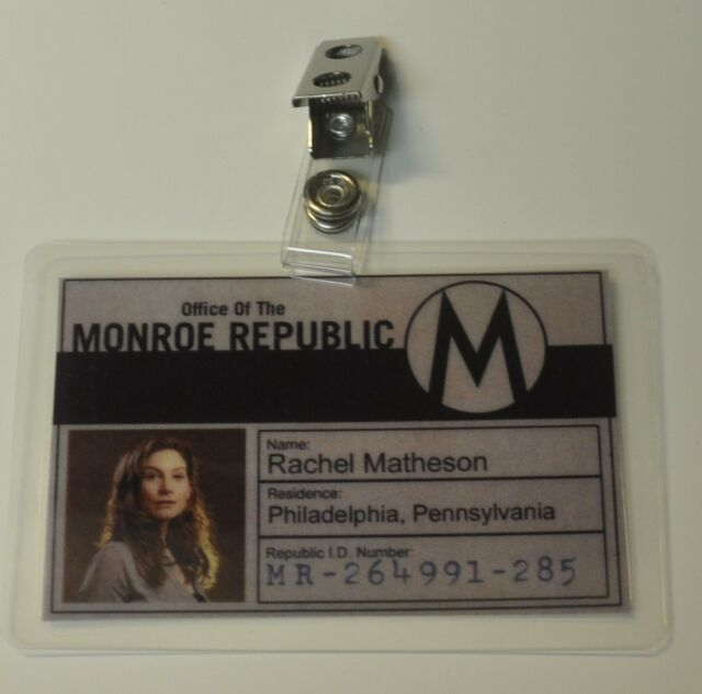 Revolution TV Series ID Badge-Monroe Republic Rachel Matheson