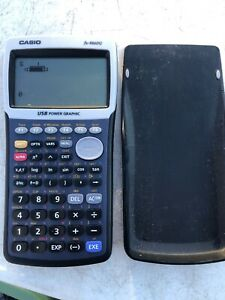 Casio-fx-9860G-Graphing-Calculator-with-cover
