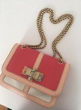 Christian Louboutin Sweet Charity Handbag With Python Bow