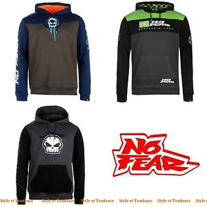 Sweat-Shirt-a-Capuche-NO-FEAR-Homme-Type-Monster-Energy-amp-Red-Bull