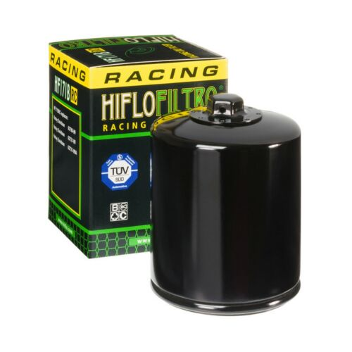 Harley FLSTFI 1584 Fat Boy Fuel Inj 2009 Racing Oil Filter Cannister Black