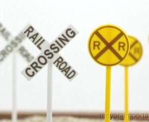 Roadway & Rail Signs - Qty 24 - O GA - 106-0969