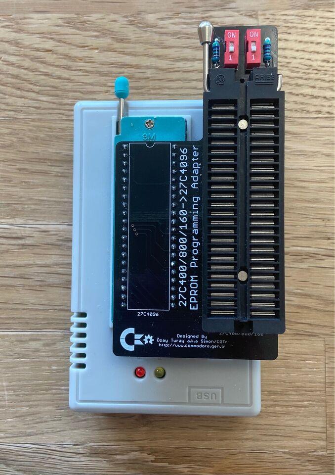 EPROM Programming Adapter, Amiga