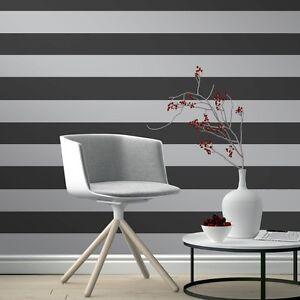 negro-y-Plata-Rayas-Papel-Pintado-Por-Rasch-JUST-ME-GAMA-286922