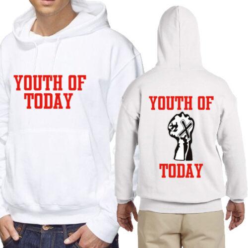 Youth of Today Hoodie New Men/'s Longsleeve Hoodie