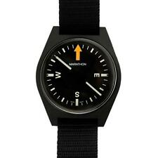 US Military Aviation SERE Survival Wrist Compass by Marathon CO194001 Black NEW