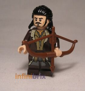 Lego Bard the Bowman lor084 minifigure from set 79013 LOTR Hobbit