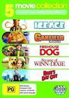 Ice Age / Garfield - The Movie / Firehouse Dog / Because Of Winn-Dixie / Baby's Day Out (DVD, 2010, 5-Disc Set)