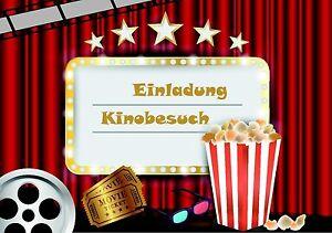 Das Bild Wird Geladen 12 Einladungskarten Fuer Kindergeburtstag  Im Set Junge Maedchen
