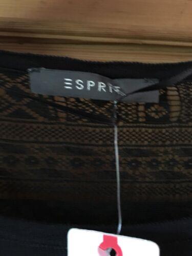 Schwarz S Gr Esprit Spitze Mit Unterkleid Neu Und Kleid xZAPqwT