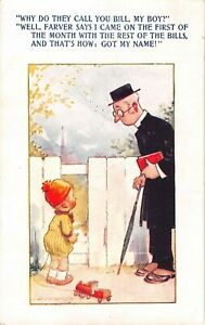 Comic-Old-Bamforth-PC-Artist-D-Tempest-Little-Boy-Talking-To-Priest-Why-Do-They