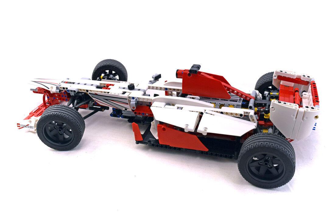 Lego Technic Model Race Set 42000-1 Grand Prix Racer 100% complete + inst.