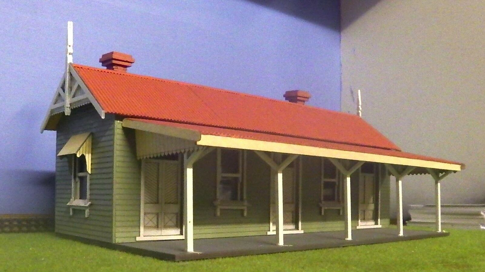 O scale scale scale building VR station kit Bullarto 4f724f