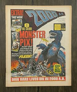 Bagged 2000 AD Comic Prog 8 - 16th April 1977 - Ref 2K1