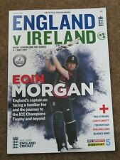 ENGLAND IRELAND ONE DAY SERIES 2017 MATCH PROGRAMME