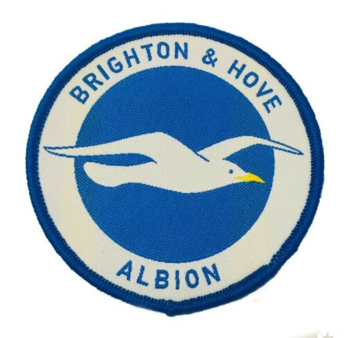 bags scarfs Brighton and Hove Albion FC patch iron on//sew on crest hats