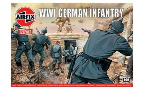 Hornby Airfix le Monde War Figurines Vintage Classiques 1:76 Modèle Soldat Set