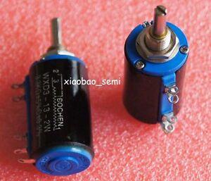 WXD3-13-2W-10K-Ohm-Multi-Turn-Wirewound-Potentiometer