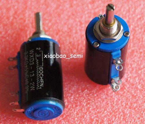10PCS WXD3-13-2W 3.3K Ohm Multi-Turn Wirewound Potentiometer