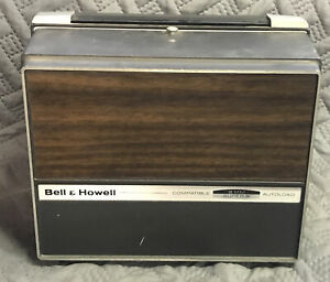 Vintage Bell & Howell Autoload Super 8 8mm Film Projector Model 466A