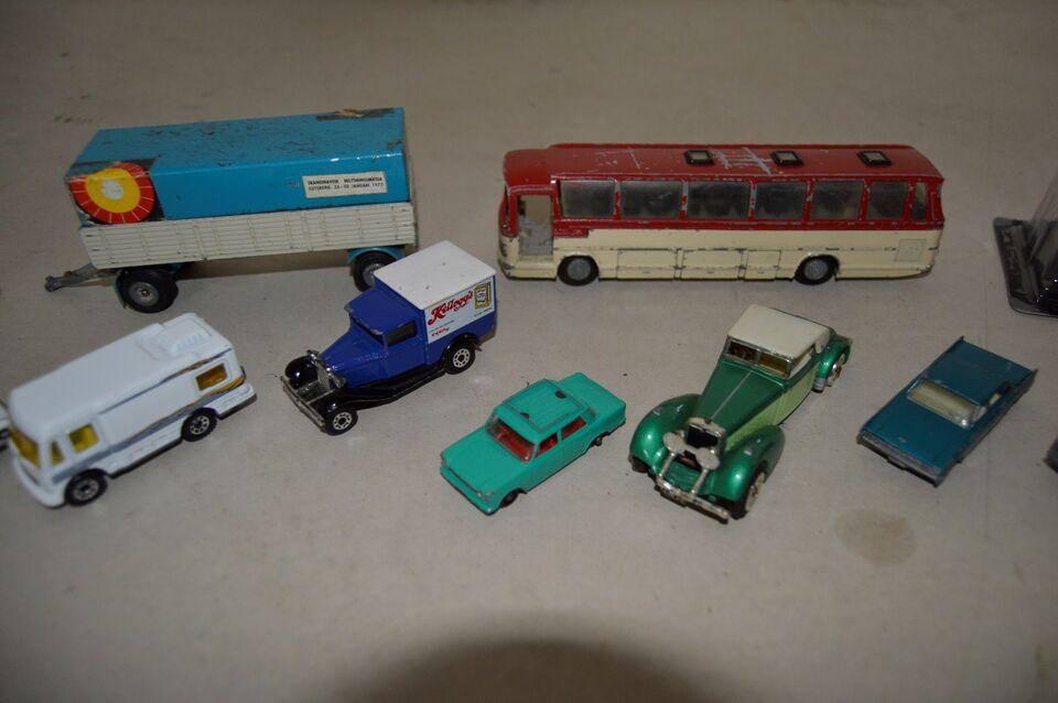 Modelbil samling, fjernstyret, Tekno og Matchbox-Lesney