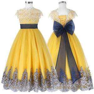 f074123c6 Flower Girl Dresses Pageant Party Dance Wedding Birthday Pageant ...