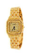 Cartier Panther Factory Diamonds 18K Yellow Gold Watch WF3072B9PVE
