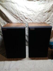 Vintage-Pinnacle-Model-PN-5-Bookshelf-Speakers-NOT-TESTED-SOLD-AS-IS