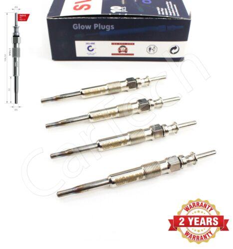 4x BMW E46 E60 E90 x 3 Riscaldatore glow plugs 12237786869