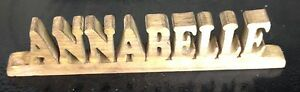 wood personalised customised name letter word symbol number plaque sign stand - <span itemprop='availableAtOrFrom'>Slough, United Kingdom</span> - Returns accepted Most purchases from business sellers are protected by the Consumer Contract Regulations 2013 which give you the right to cancel the purchase within 14 days after the day y - <span itemprop='availableAtOrFrom'>Slough, United Kingdom</span>