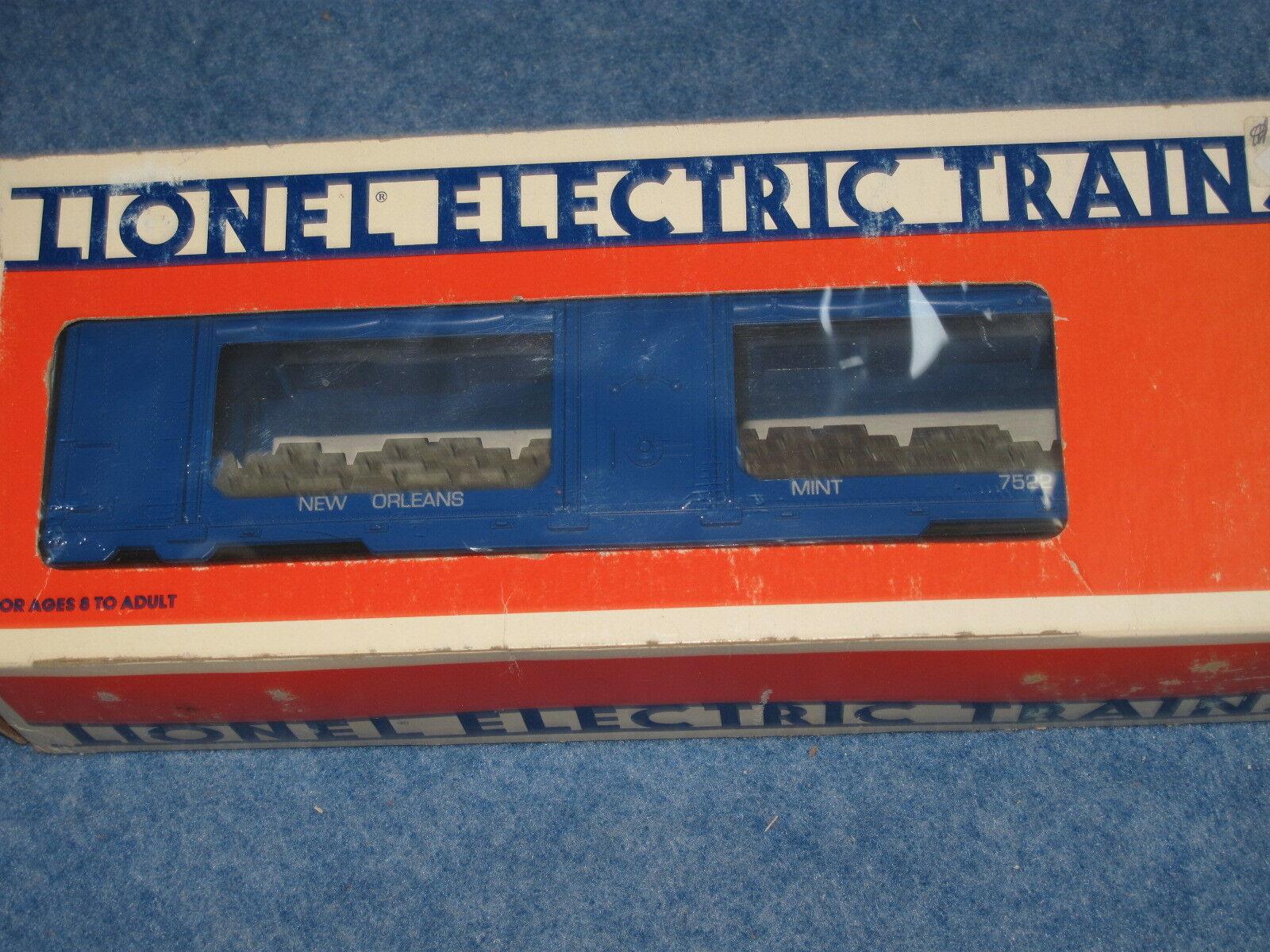 1984 Lionel 6-7522 Nuovo Orleans Mint Car L1280